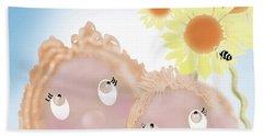 Little Ms And Bro Beach Sheet