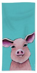 Little Pig Beach Towel
