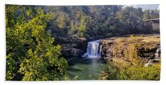 Beach Towel featuring the photograph Little River Canyon Falls Alabama by Rachel Hannah