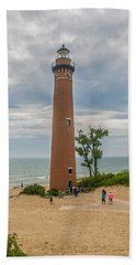 Little Sable Point Lighthouse Beach Towel