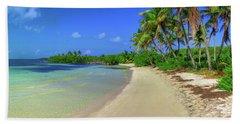 Living On An Island Beach Sheet
