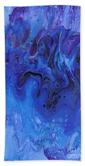 Living Water Abstract Beach Towel