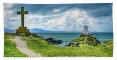 Llanddwyn Island Beach Towel