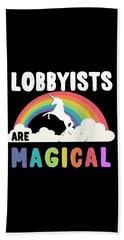 Lobbyists Are Magical Beach Sheet