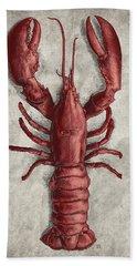 Lobster Beach Towel