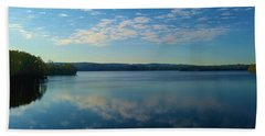 Loch Raven Reservoir Bridge Beach Towel