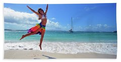 Lollick Frolic Beach Towel