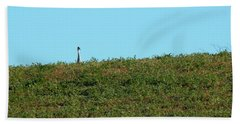 Lonely At The Top Beach Towel