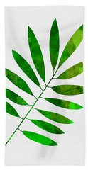 Lonely Leaf Beach Towel