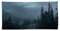 Lonely Trails Beach Towel