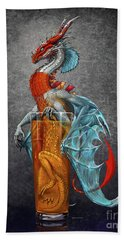 Long Island Ice Tea Dragon Beach Towel