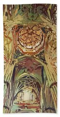 Looking Up Salamanca Cathedral Beach Towel