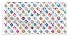 Louis Vuitton Monogram-3 Beach Towel