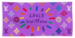 Louis Vuitton Monogram-8 Beach Towel