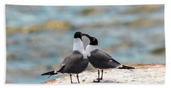 Love Birds Beach Sheet