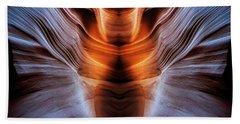 Luminous Canyon Beach Towel