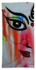 Ma Durga-5 Beach Towel