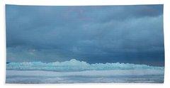 Mackinaw City Ice Formations 21618011 Beach Towel