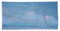 Mackinaw City Ice Formations 2161802 Beach Towel