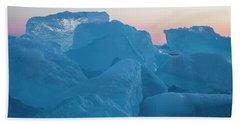 Mackinaw City Ice Formations 2161804 Beach Towel
