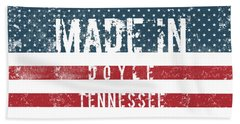 Made In Doyle, Tennessee #doyle #tennessee Beach Towel