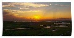 Maggies Cove Sunset Beach Towel