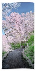 Magnolia Gazebo  Beach Towel