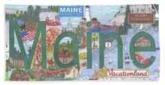 Maine Beach Sheet