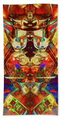 Mamma Bears Pinball Beach Towel