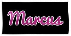 Marcus #marcus Beach Towel