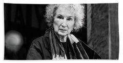 Margaret Atwood At The Hay Festival 2018 Beach Towel