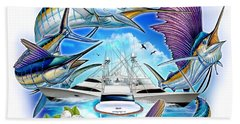 Marina Casa De Campo Open Art Beach Towel