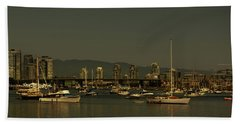 Marina Golden Hours Beach Towel