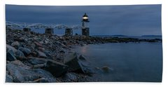 Marshall Point Just Before Dawn Beach Towel
