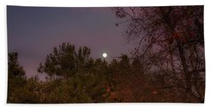 Marvelous Moonrise Beach Towel