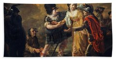 Mary, Queen Of Scots Escaping From Lochleven Castle, 1805 Beach Towel