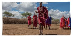 Maasai Welcome Beach Towel