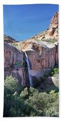 Massacre Trail Waterfall Beach Towel