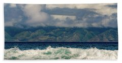 Maui Breakers II Beach Towel