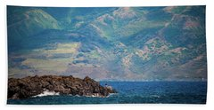 Maui Fisherman Beach Towel