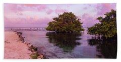 Mayan Sea Reflection Beach Sheet