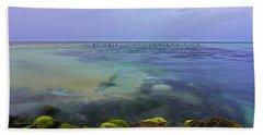 Mayan Sea Rocks Beach Towel