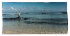 Mayan Shore 3 Beach Towel