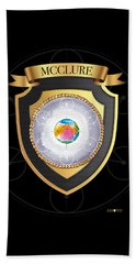 Mcclure Family Crest Beach Towel