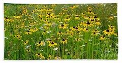 Meadow Flowers 1 Beach Towel