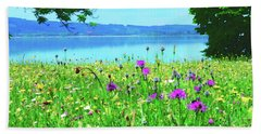 Meadow Flowers Bloom Beach Towel