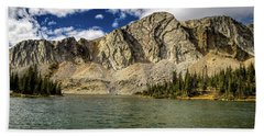 Medicine Bow Peak Beach Towel