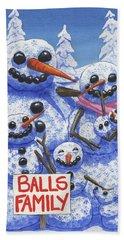 Meet The Balls Beach Sheet