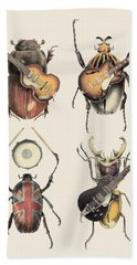 Meet The Beetles Beach Towel