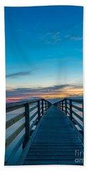 Memories On The Boardwalk Beach Sheet